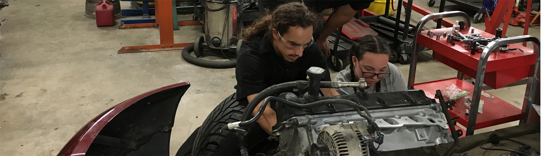 Auto Technology at Etiwanda High School